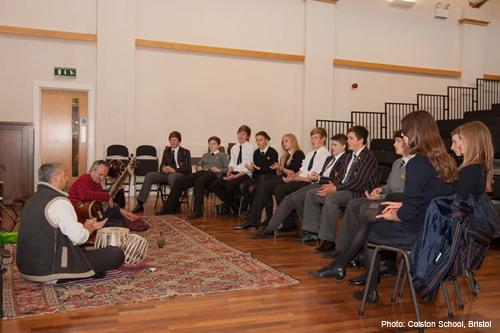 Indian Music Workshops, Tabla & Sitar, Stroud, Devon,